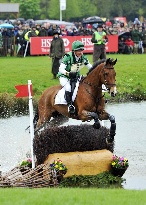 Mary King suspended for dangerous riding