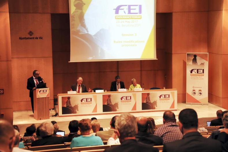 NEWS: Key endurance issues focus of FEI Forum