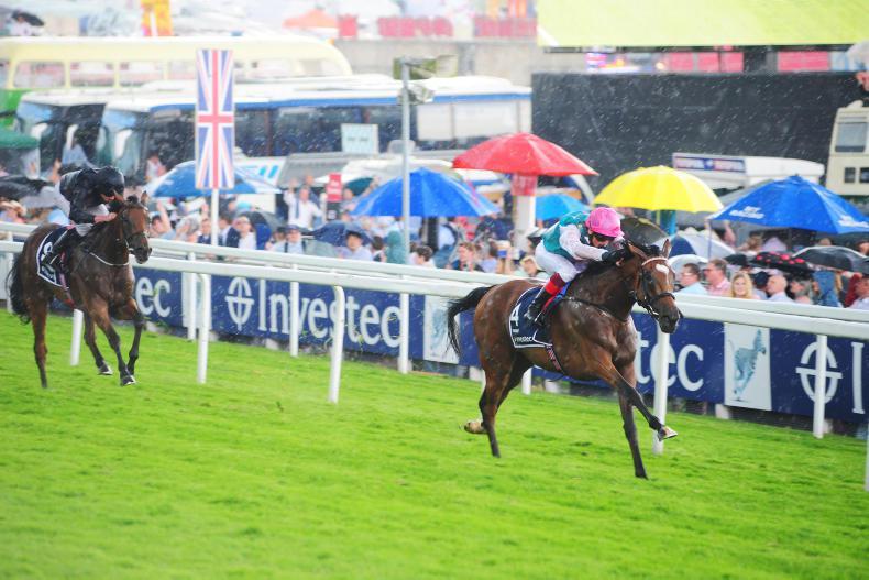 WATCH: Enable thunders home in thrilling Oaks at Epsom