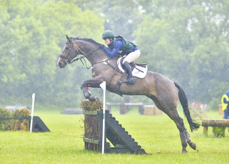 EVENTING: Indoor provides refuge at Killossery