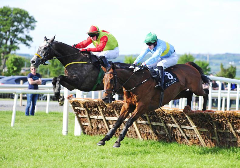 DOWN ROYAL FRIDAY: Townend takes the honours