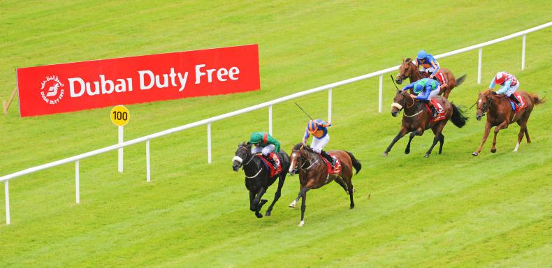 Epsom one-two could face Curragh rematch