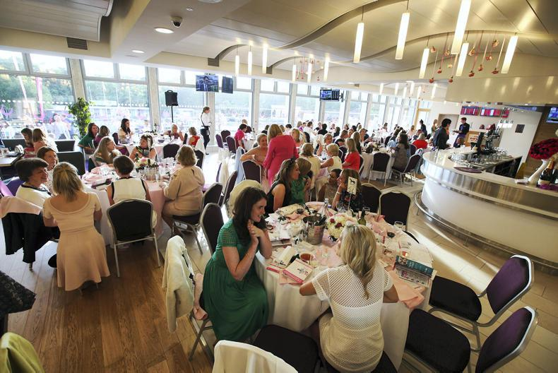 LADIES EVENING AT LEOPARDSTOWN:  All things bright and beautiful!