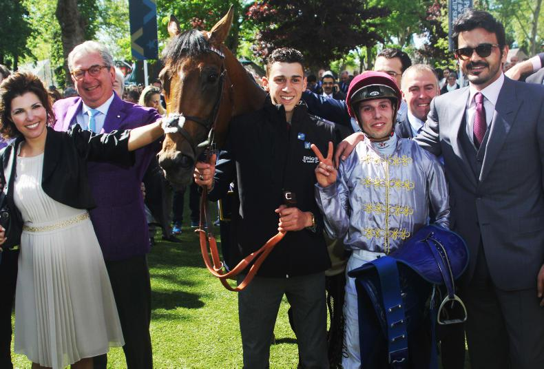 Last-gasp Brametot completes Classic double with Prix du Jockey Club success