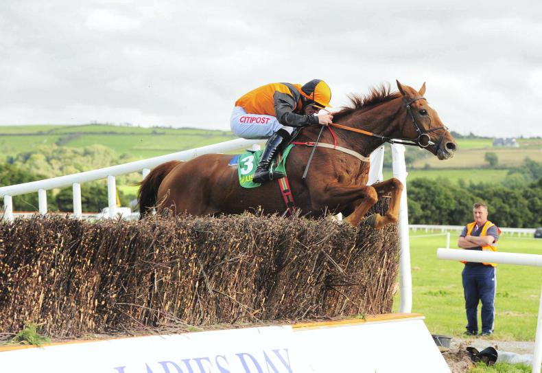 Davy Russell at the double at Listowel