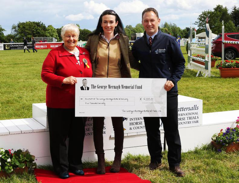 TATTERSALLS INTERNATIONAL: Keenan wins George Mernagh Memorial Fund Bursary