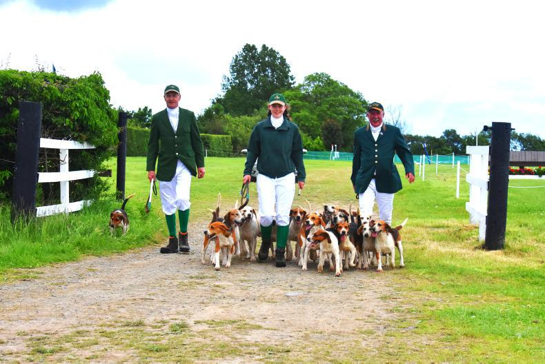 TATTERSALLS INTERNATIONAL: Great marriage between eventing and hunting