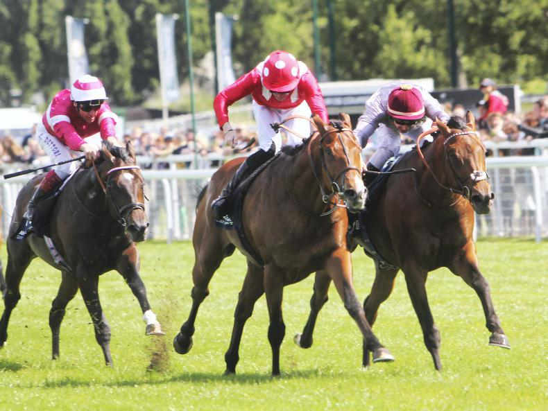 SIMON ROWLANDS: Brametot solid on the clock in Prix du Jockey Club