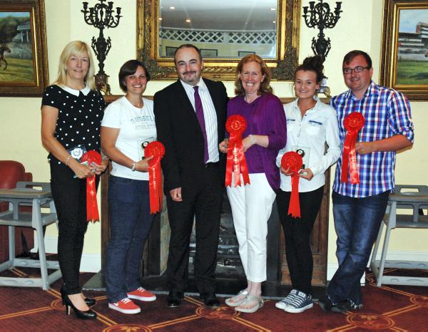 West Leinster winners honoured