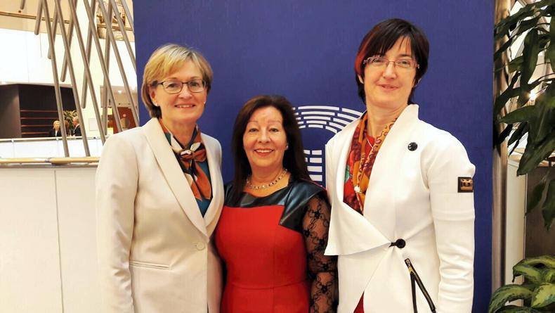 NEWS:  McGuinness welcomes IFC stalwarts to EU Parliament