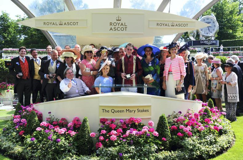 ROYAL ASCOT WEDNESDAY: Royal enclosure holds 75 owners!