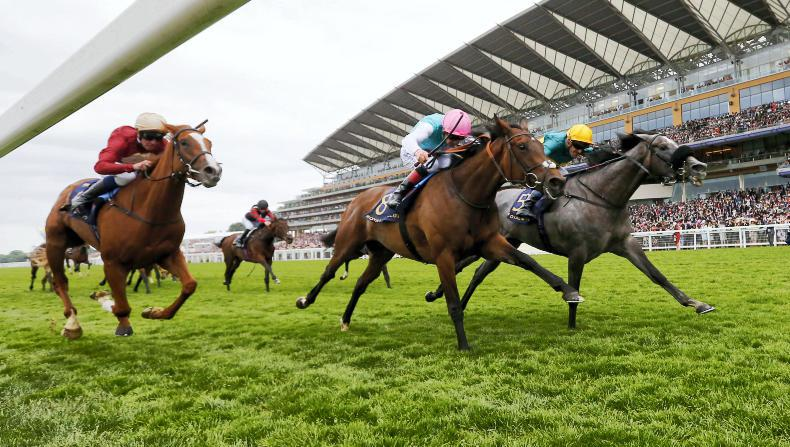 ROYAL ASCOT THURSDAY:  Coronet crowned for Gosden