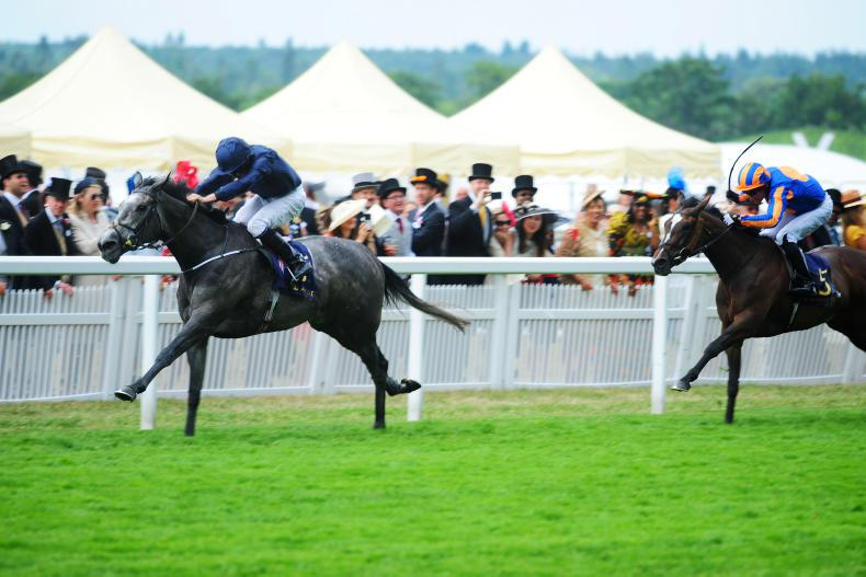 ROYAL ASCOT: A treble of Group 1s for Winter