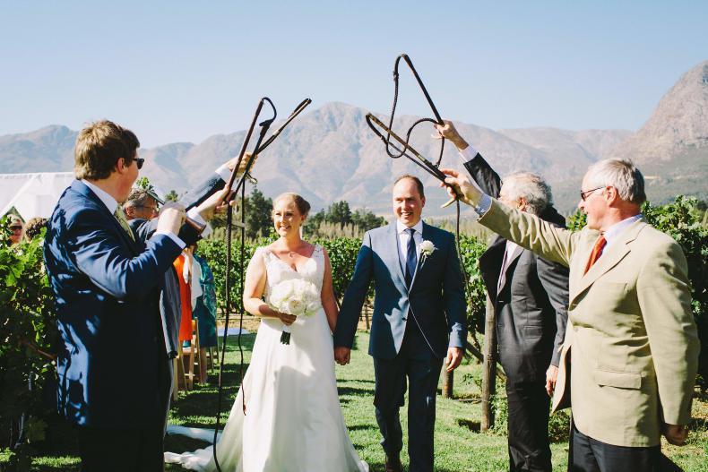 PONY TALES:  Wedding bliss