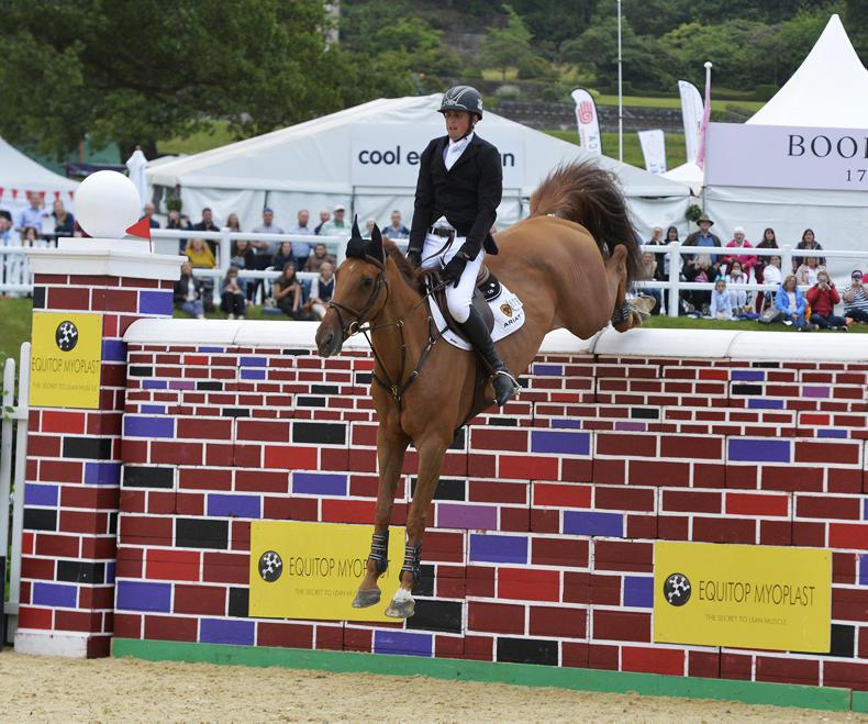 INTERNATIONAL: Breen wins Puissance and auction breaks records