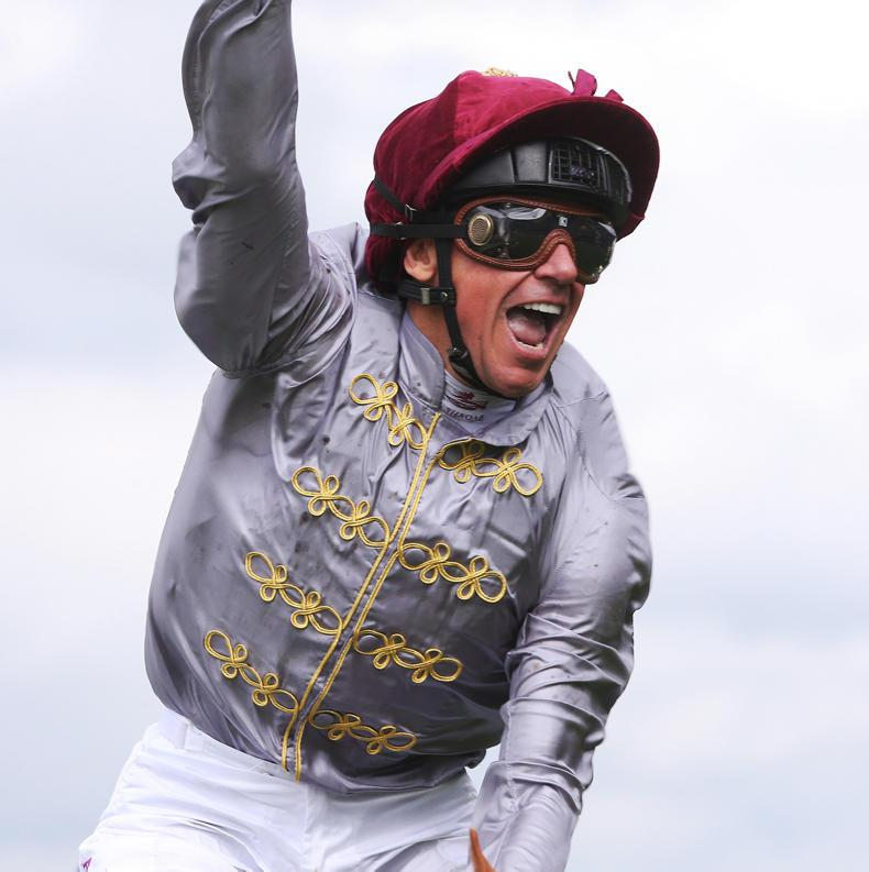 Frankie Dettori sidelined for at least two more weeks due to arm injury