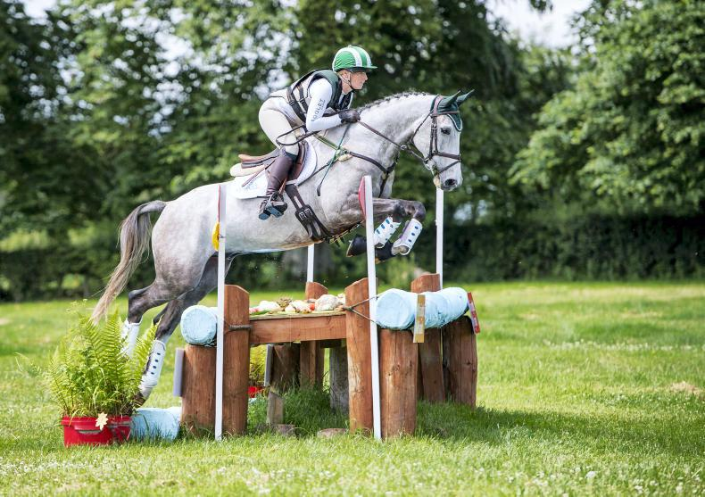 EVENTING:  Good day at the office for Cooley Farms