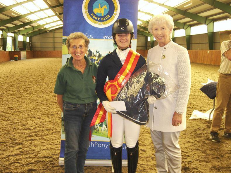 IRISH PONY CLUB: Killinick double at Spruce Lodge