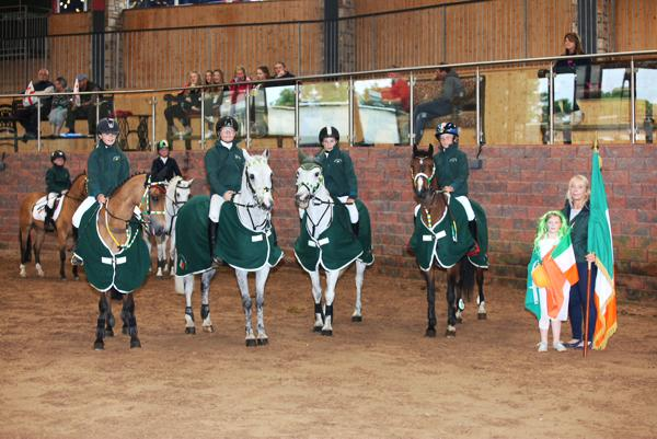 Irish on form at Home Pony International