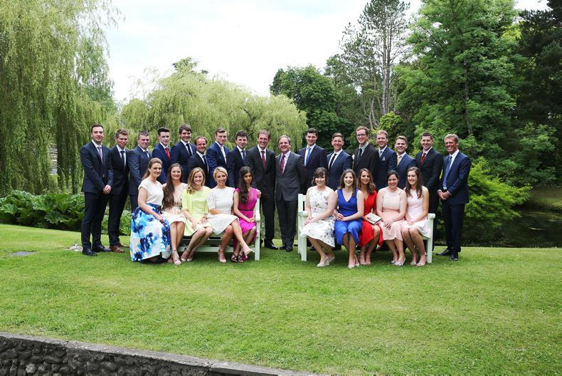 INS graduates following footsteps of new CEO Cathal Beale