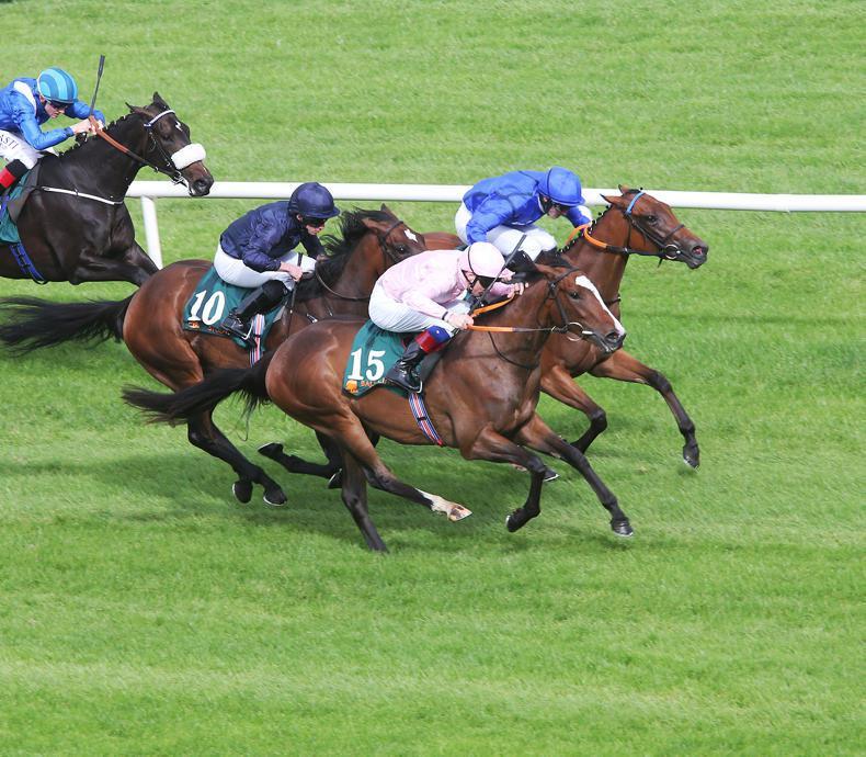 Rain Goddess and Alluringly set to lead O'Brien's Irish Oaks team