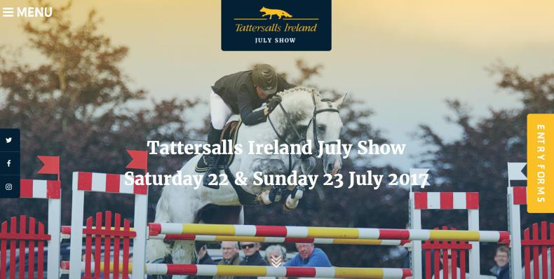 NEWS: New website for Tattersalls July Show