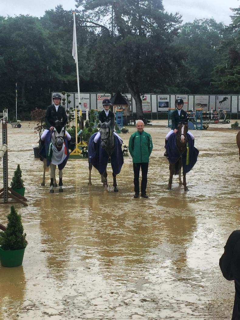 NEWS: Irish pony riders win Wierden Nations Cup