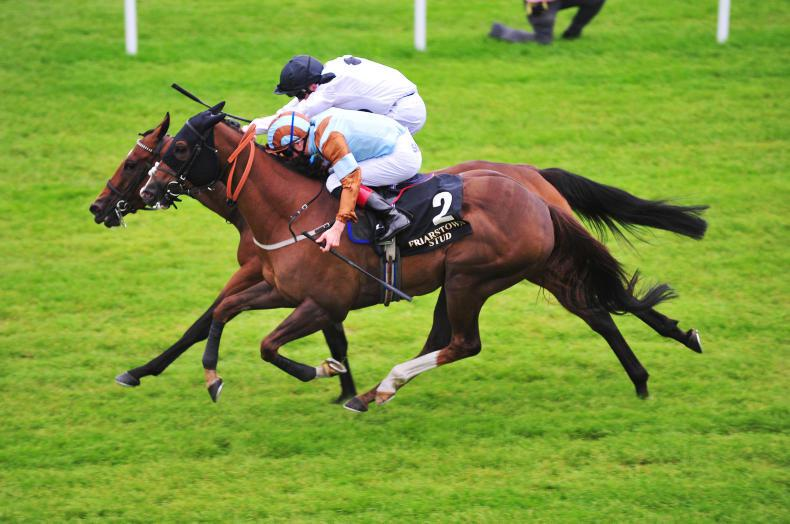 CURRAGH SATURDAY: Caspian is just regal shining  in the Sapphire