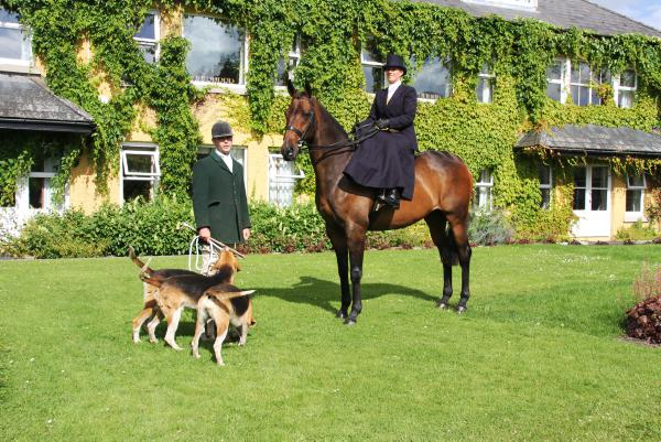 Stonehall Harriers' side-saddle hunting weekend