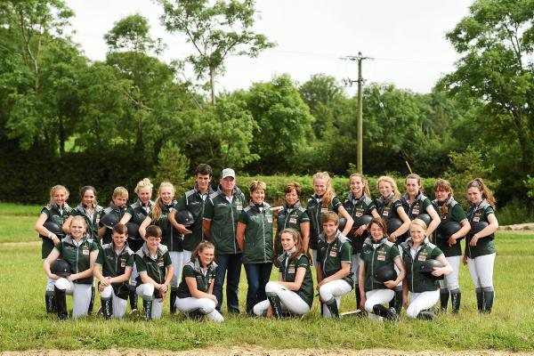 European Pony Championships: Going for gold