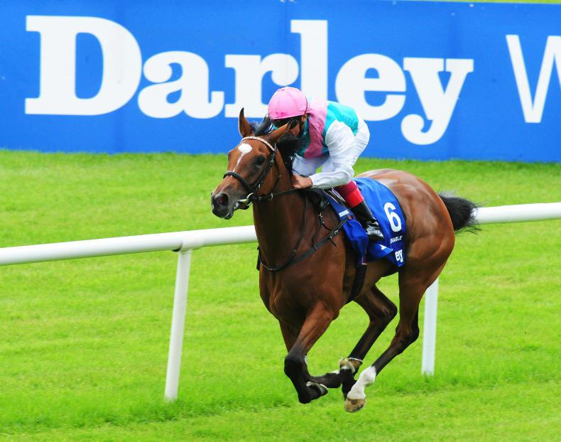 SIMON ROWLANDS: Enable looked good in red-hot finish