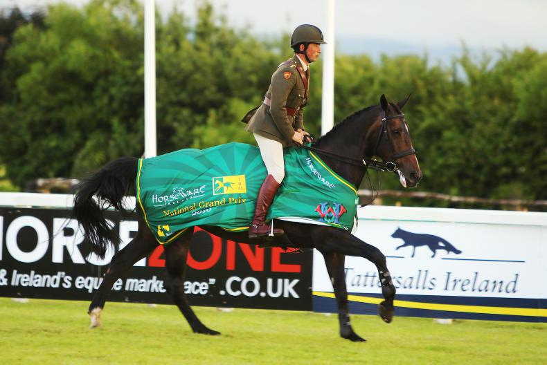 SHOW JUMPING: Capt Curran doers the double in Tattersalls