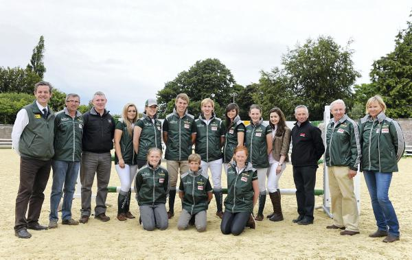 Children on Horses, Junior and Young Riders taking on Europe