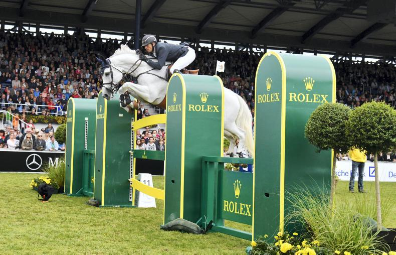 ROLEX GRAND SLAM: Wathelet writes his name on the Aachen wall of fame