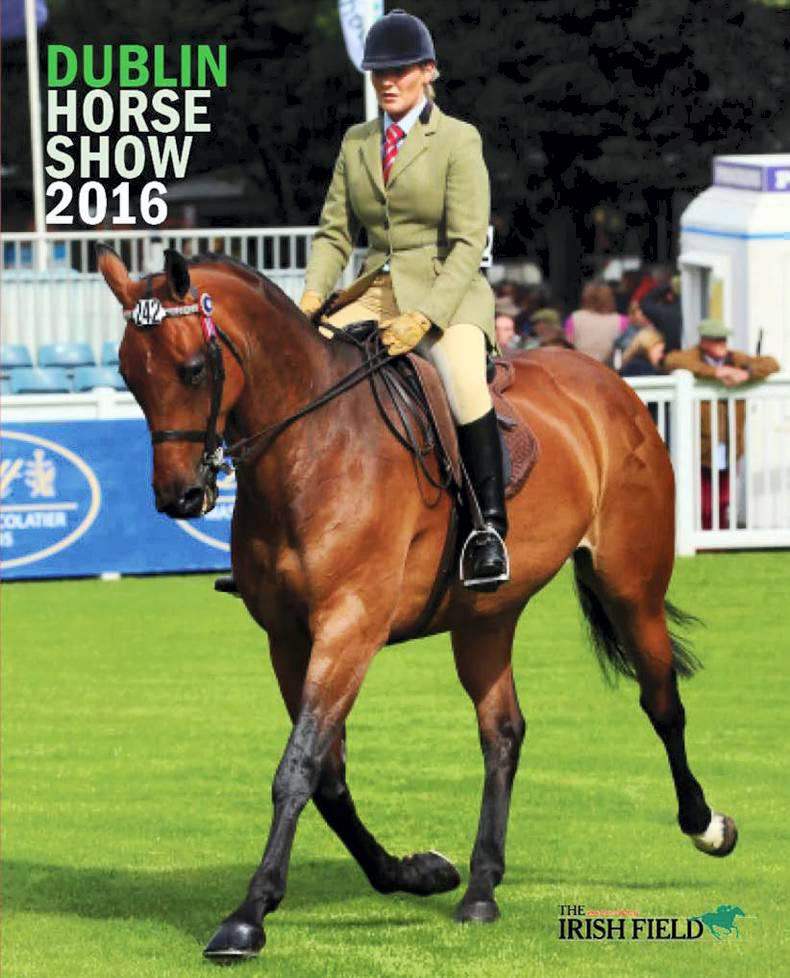 FREE 40-page Dublin Horse Show supplement in this Saturday's Irish Field