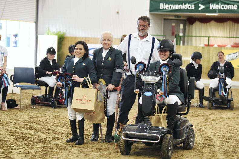 INTERNATIONAL:  Hartpury success for Irish Para Dressage team