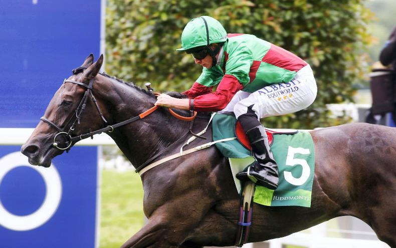 SIMON ROWLANDS: Nyaleti's a top two-year-old