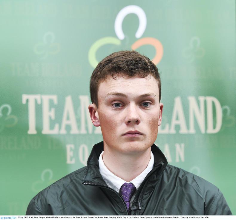 INTERNATIONAL:  Duffy third in Queen Elizabeth II Cup