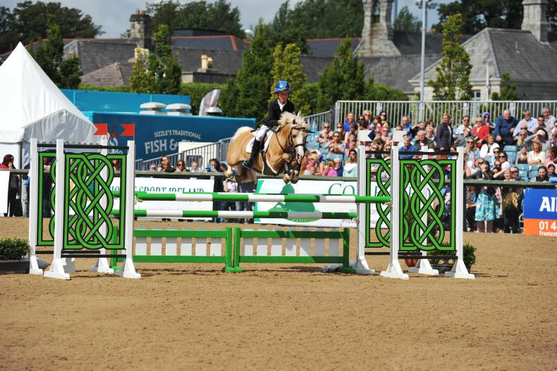 DUBLIN HORSE SHOW: Reeling in the years