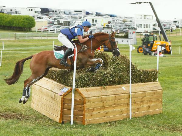 Young riders star at Barbury Castle