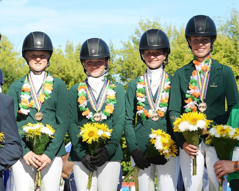 EUROPEAN CHAMPIONSHIPS:  Bronze medal for Irish eventing team
