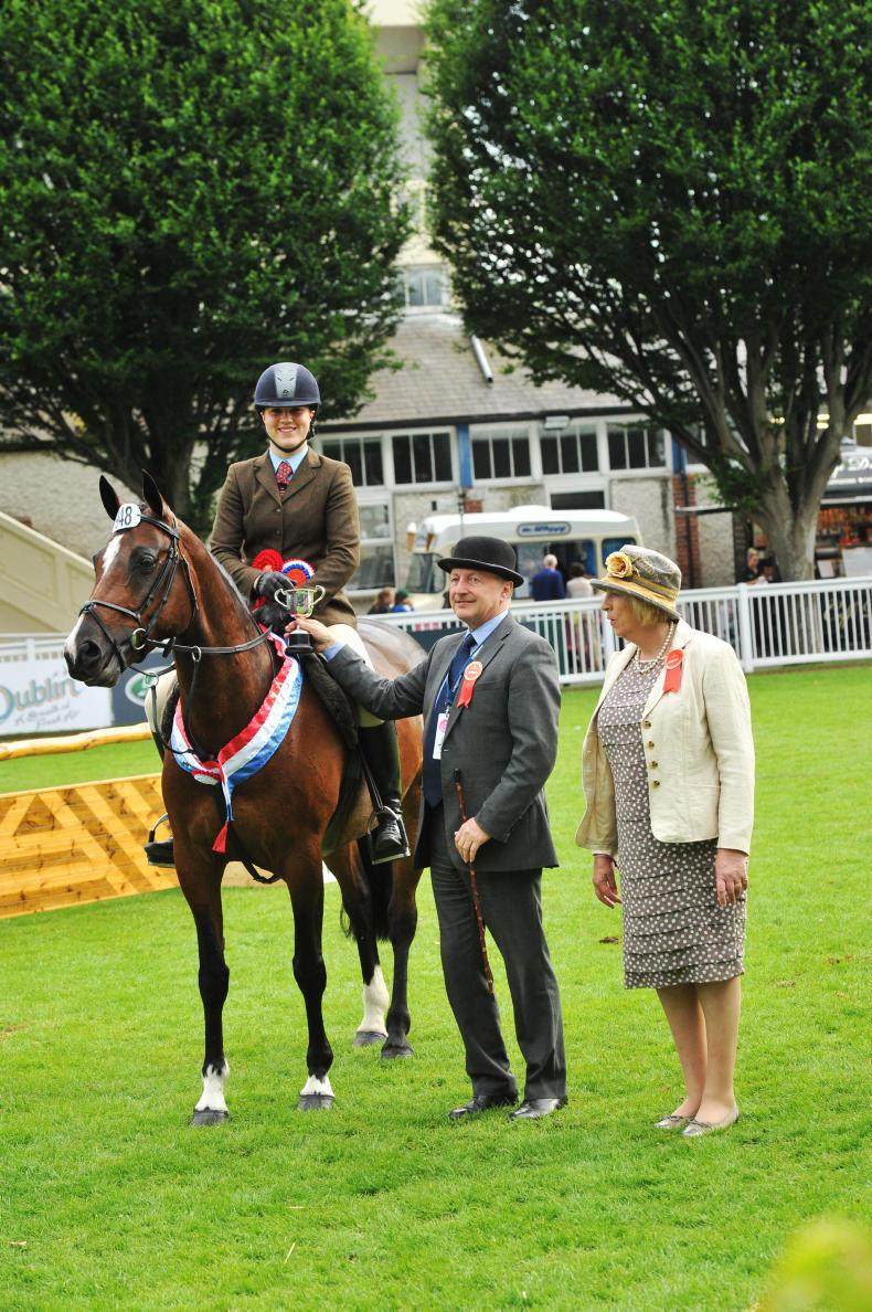 DUBLIN HORSE SHOW 2017: The perfect combination
