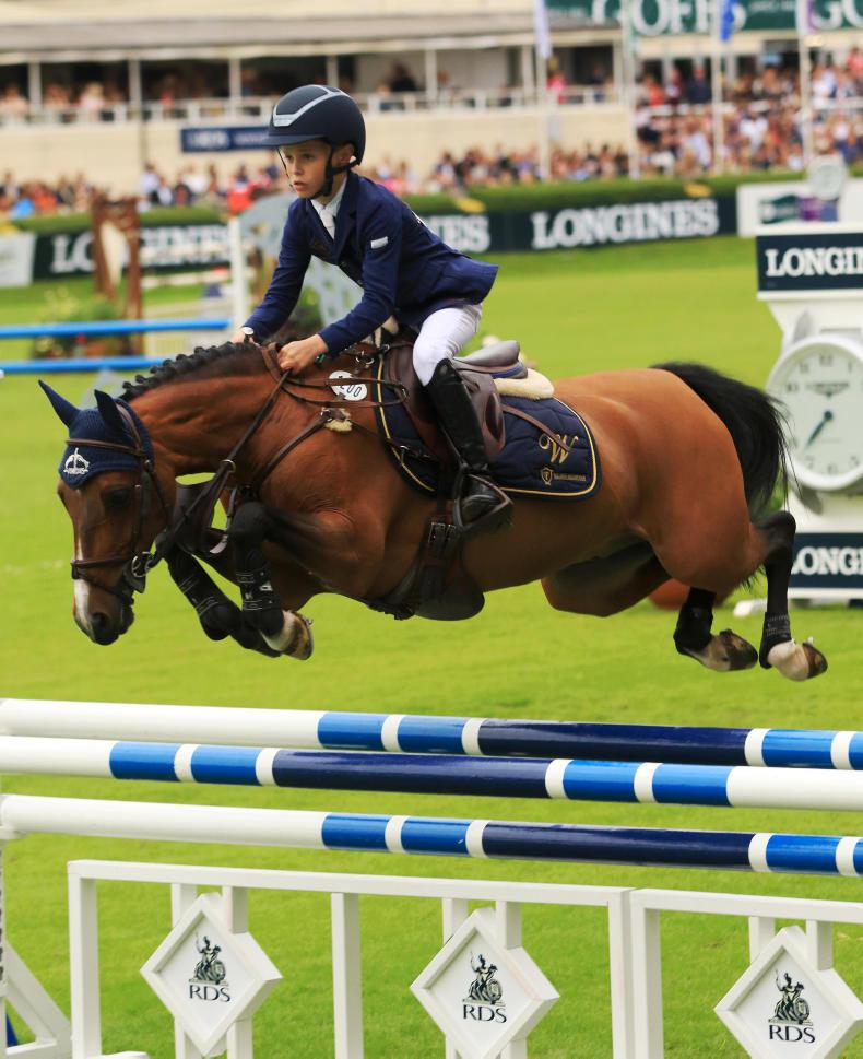 DUBLIN HORSE SHOW 2017:  Riding for the Ribbons