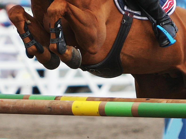 AROUND THE COUNTRY:  Top jumping action at Warrington finals