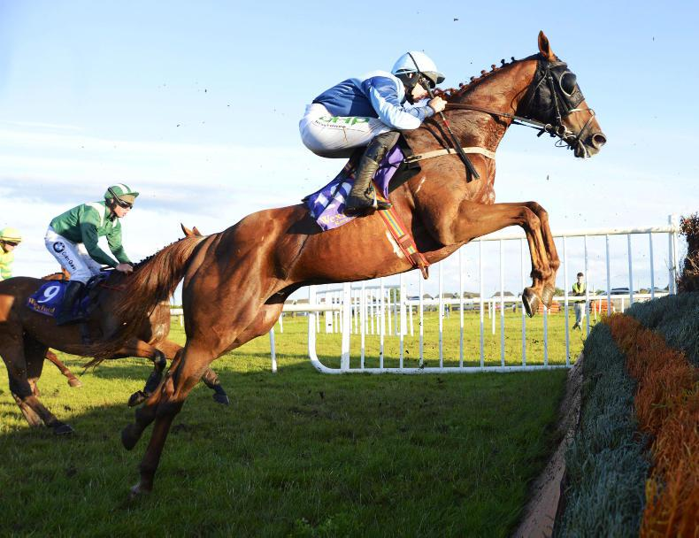 WEXFORD FRIDAY: Prosperity Square put his best foot forward