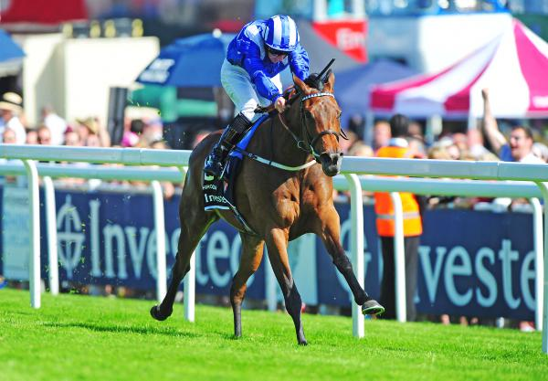 Taghrooda leads the way for Sea The Stars