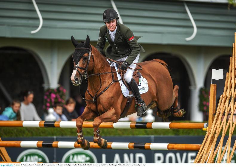 DUBLIN HORSE SHOW 2017: Broderick wins opener for Ireland