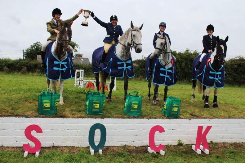 PONY TALES:  Generous €7,000 cheque raised for SOCK