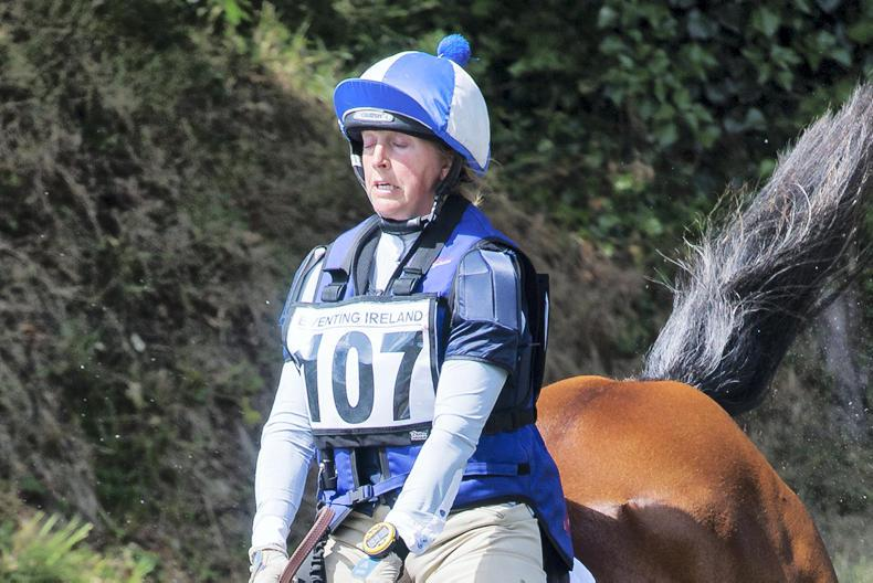 EVENTING:  Holden on course for Millstreet