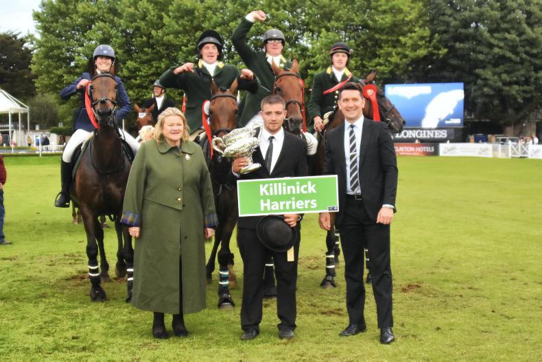 DUBLIN HORSE SHOW 2017:  Hats off to the Killinicks!